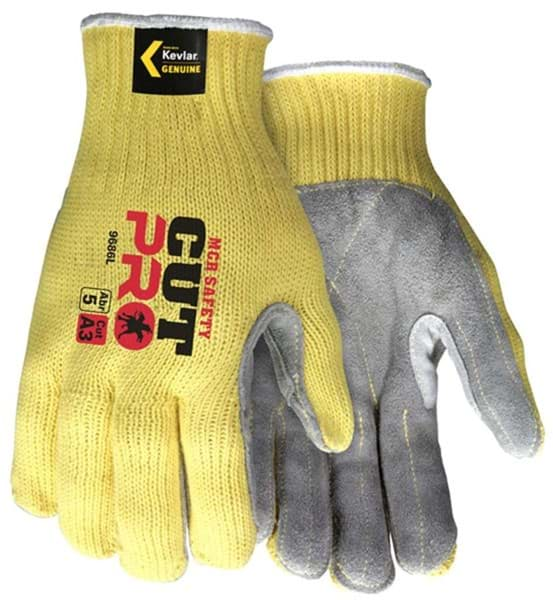 Picture of Glove Kevlar Knit w/ Palm Leather – XL