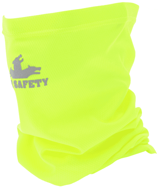 Picture of Hi-Visibility Neck Gaiters 100% Polyester Material One Size Fits All