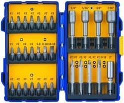 Picture of Drill Bit Driver Screw Set Irwin – 30pc.