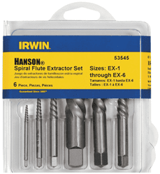 Picture of Drill Bit Screw Extractor Spiral – 6pc. set