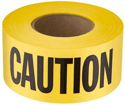 Picture of Barricade Tape Caution – 1000'x3""