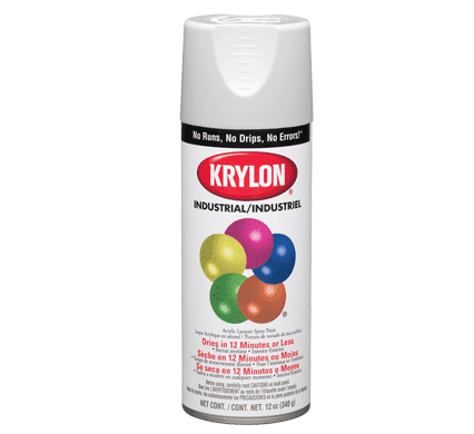 Picture of Paint Aerosol Industrial Krylon – White Flat