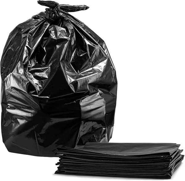 Picture of Trash Can Liner Black  – 33gal.