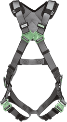 Picture of V-FIT Harness, Standard, Back & Hip D-Rings, Quick-Connect Leg Straps, Shoulder Padding