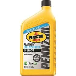 Picture of Pennzoil Synthetic Motor Oil - 5W-30