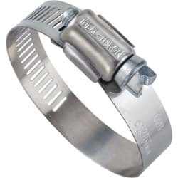 "Picture of Ideal 57 Stainless Steel Hose Clamp With Zinc-Plated Screw - 1/2""-1-1/16"""