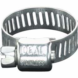 "Picture of Ideal All Stainless Micro-Gear Hose Clamp - 5/16""-7/8"""