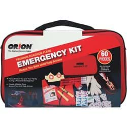 Picture of Orion 60-Piece Premium Emergency Road Kit