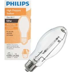 Picture of Philips BD17 Medium High-Pressure Sodium High-Intensity Light Bulb