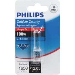 Picture of Philips T4 120V GY8.6 Halogen Special Purpose Light Bulb