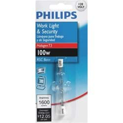Picture of Philips T3 120V Double Ended Halogen Light Bulb