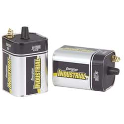 Picture of Energizer Industrial 6V Spring Terminal Alkaline Lantern Battery