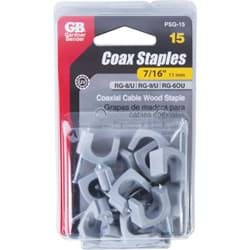 Picture of Gardner Bender UV Resistant Coaxial Cable Staple