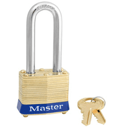 Picture of Lock Keyed Shank Long HD Master – key 3391
