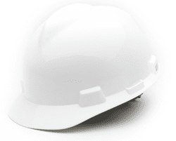Picture of Hard Hat Cap w/ Fas-Trac Suspension – White