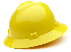 Picture of Hard Hat Full-Brim w/ Fas-Trac Suspension – Yellow