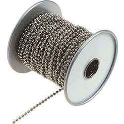 "Picture of Brass Lucky Line Ball Chain - 3/16"" - 100'"