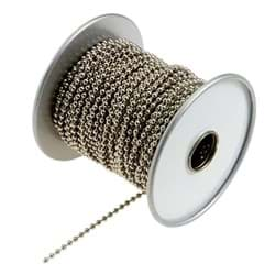 "Picture of Aluminum Lucky Line Ball Chain - 3/32"" - 100'"