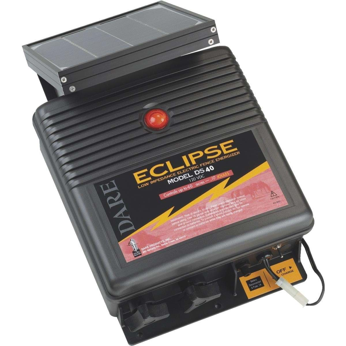 Ropesoapndope Dare Eclipse Solar Electric Fence Charger