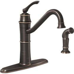 Picture of Moen Wetherly Single Handle Kitchen Faucet With Side Sprayer