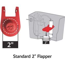Picture of Korky QuietFILL Platinum Fill Valve & 2 In. Flapper Kit
