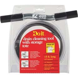 "Picture of Do it Drain Auger Cleaning Tool - 1/4"" x 15'"