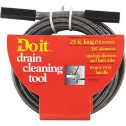 "Picture of Do it Drain Auger Cleaning Tool - 3/8"" x 25'"