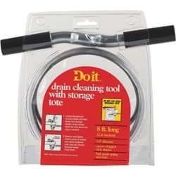 "Picture of Do it Drain Auger Cleaning Tool - 1/4"" x 8'"