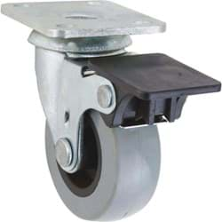 Picture of Shepherd Thermoplastic Swivel Plate Caster With Brake