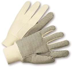 Picture of Glove Cotton White w/ Dot Black