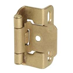 Picture of Amerock Self-Closing Partial Wrap Overlay Hinge