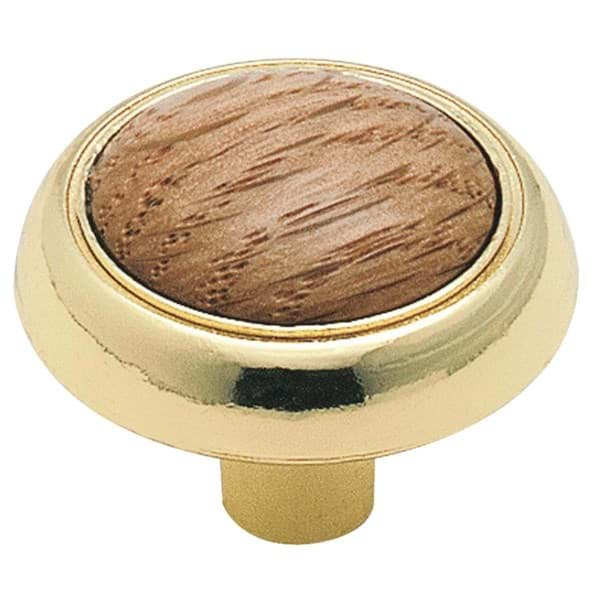 Picture of Amerock Allison 1-1/4 In. Polished Brass Knob