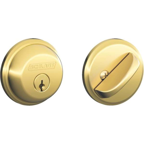 Picture of Schlage Single-Cylinder Maximum Security Deadbolt