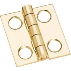 Picture of National Medium Clear Coat Decorative Hinge