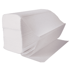 Picture of Fold Towel-Single Commercial White Advantage