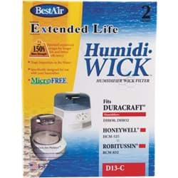 Picture of BestAir Extended Life Humidi-Wick Humidifier Wick Filter