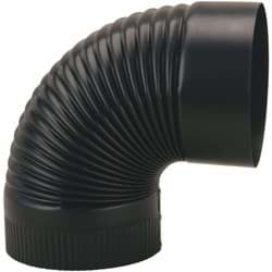 Picture of Black Crimped Elbow