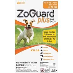 Picture of ZoGuard Plus For Dogs Flea & Tick Treatment