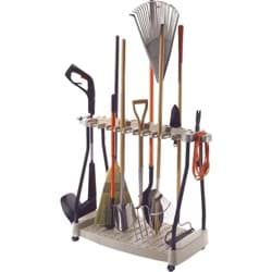 Picture of Suncast Long Handle Tool Rack With Wheels