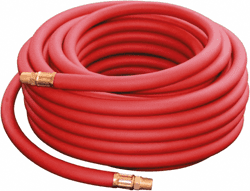 "Picture of Pneumatic Hose 3/8"" Rubber w/ End – 50'"