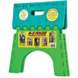 Picture of E-Z Foldz 9 In. 1-Step Folding Step Stool