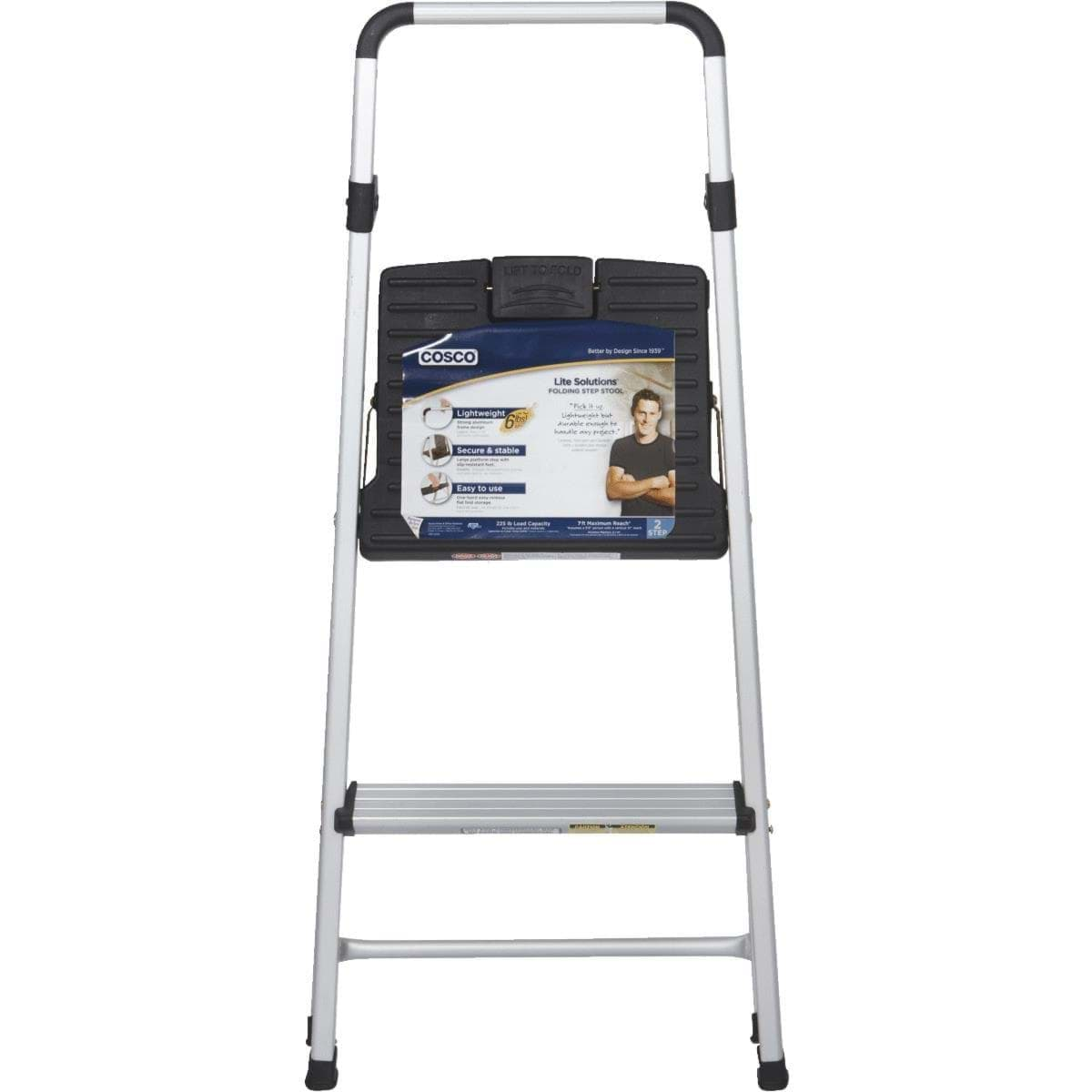 Ropesoapndope Cosco Lightweight 2 Step Folding Step Stool