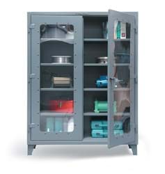 "Picture of Clear View Storage Cabinet - 60""x24""x72"""