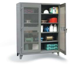 "Picture of Ventilated Industrial Storage Cabinet - 36""x24""x72"""