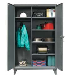 "Picture of Industrial Uniform Cabinet - 48""x24""x72"""
