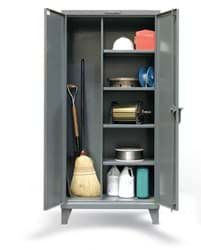 "Picture of Janitorial Storage Cabinet - 60""x24""x72"""