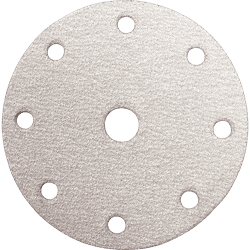 "Picture of 6"" Round Abrasive Disc, Hook & Loop, 180 Grit, 10/pk."