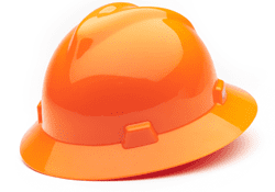 Picture of Hard Hat Full-Brim w/ Fas-Trac Suspension – Hi-Viz