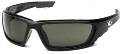 Picture of Safety Glasses Pyramex Brevard Lens Gray Frame Black Anti-Fog