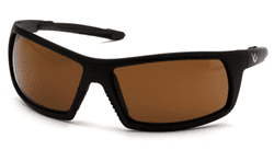 Picture of Safety Glasses Pyramex Stonewall Lens Bronze Frame Black Anti-Fog
